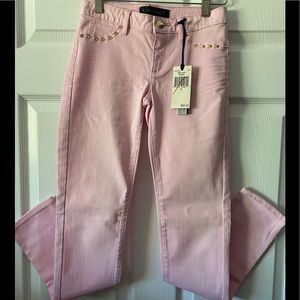 NWT Juicy Couture Girls Pink Lady Skinny